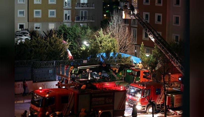 Τέσσερις νεκροί στην Κωνσταντινούπολη - Συνετρίβη στρατιωτικό ελικόπτερο