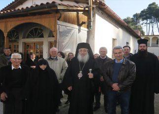 Η Εορτή της Αγίας Φιλοθέης της Αθηναίας στην Ιερά Μονή Αγίων Αναργύρων Αταλάντης