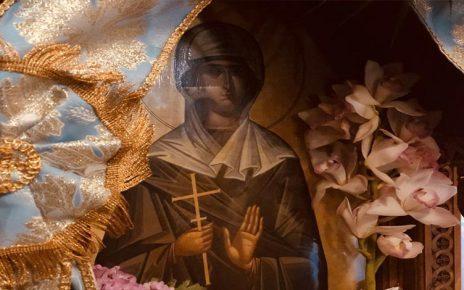Μητροπολίτης Κυδωνίας Δαμασκηνός : Η Αγία Φιλοθέη είχε ειρήνη στην ψυχή και την ζωή της