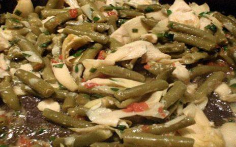 Aγιορείτικες Μοναστηριακές Συνταγές : Αγκινάρες με φασόλια